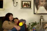 (Westminster, Colo., 11/4/04 )  Laura Alegria is the mother of Dometria Carbajal.  Dometria was...