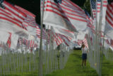 "9/11 story.   New York on Sept 10, 2006.    Photos of ""NYC Memorial Field at Inwood Park,..."