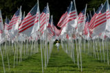 9/11 story.   New York on Sept 10, 2006.    Cameron Kellett, 9, of Riverdale, N.Y., runs through...
