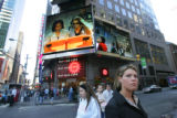 9/11 story.   New York on Sept 11, 2006.    Sonia Gourdin (Cq) of New York, pauses in Times...