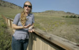 Lindsey Sterling Krank (cq) Director of The Prarie Dog Coalition, wants to see more prairie dog...