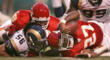 Mike Ransdell/The Kansas City Star 8/26/2006  (SPORTS) Kansas City Chiefs running back Larry...