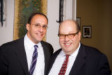 The 2006 Golda Meir Award Reception honoring Robin Chotin - 014- From left, Mark Sidell (2007-2008...