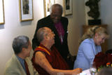 MJM1913 Nobel Peace Prize Laureates, the Dalai Lama, left,  and the Archbishop Desmond Tutu talk...