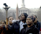 01/10/2005 ANNUAL MARTIN LUTHER KING, JR. HOLIDAY CELEBRATION AND TORCH PASSING CEREMONY. Te'Yonna...