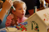 Denver, Colo. 12/8/04 --At the Ronald McDonald House kids and their families had a chance to...