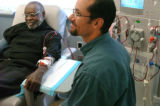 (11/24/04, Denver, CO) Leroy Thompson is getting a kidney from his adopted son Greg, 38.  His...