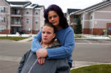 (FT COLLINS, Colo., November 24, 2004) Portrait of Anita Rickman and her daughter Tiffany Rickman....