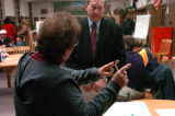 (11/29/04,Denver, CO) Denver Public Schools Superintendent Jerry Wartgow held a meeting for Cole...
