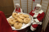 (ENGLEWOOD, Colo., December 4, 2004) Donuts were offered but happily refused before the next mass...