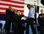 (Denver, Co., December 3, 2004.)  Nicholas C. Randolph proposes to his fiance, Kendra Anderson,...