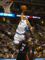 Denver, Colo., photo taken December 4, 2004- Nuggets forward, Kenyon Martin, gets ready for a slam...