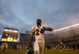 (San Diego, CA, December 5, 2004)  tChamp Bailey walks off the field after the Denver Broncos...