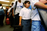 (DENVER, Colo., Jan. 10, 2005) KIPP Sunshine Peak Academy , 5th grader, Brenda Rosales (cq), 10,...