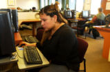(DENVER, Colo., Dec. 7, 2004) At the Workforce Development City and County of Denver, Angelica...