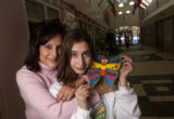 (Denver, Colo., November 30, 2004)  Portrait of Taryn Cantor, 13, and her mother Tracey Cantor,...