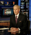 NYRD107 - NBC Nightly News anchor Tom Brokaw delivers his closing remarks during his last...