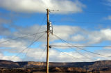 (BORREGO PASS, NEW MEXICO JANUARY 6, 2005)  Sacred Wind Communications is working on a project to...