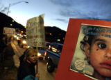 (11/08/2004) Boulder, Colorado-Rocky Mountain Peace and Justic Center sponsored a protest of the...