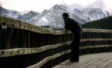(ESTES PARK, Colo, November 11, 2004) Joe Lemmon from Hygiene, CO. checks out the continental...