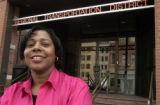 (Denver, Co.,  November 9, 2004.)  Myra Simmons has been the benifits manager at RTD for 6 years...