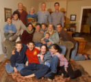 [(Durango, CO, Shot on: 11/23/04)]  Three generations of the James Family join together on the...