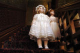 (DENVER  Colo., November11, 2004)  A French dollmaker's dolls are on display at the Molly Brown...