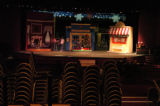 (LITTLETON  Colo., November10, 2004)  Chairs are stacked during rehearsal in preparation for the...