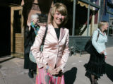 On April 21, 2006, in front of the Oxford Hotel, Princess Martha Louise leaves to have her...
