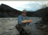 Rodbow, photo by dentry for friday   Rod Patch personally knows where this colorful rainbow trout...