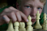 Curtis Crockett, cq, 12, is a talented young state chess player. He will be participating in the...