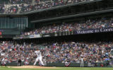 JPM209  Colorado Rockies pitcher Jason Jennings delivers the first pitch of the game to Arizona...
