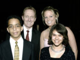 Denver, CO April 7, 2006 Big Brothers Big Sisters Big Ball Kyle Wintersmith, 13, of Denver with...