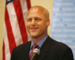 LAAB108 - Louisiana Lt. Gov. Mitch Landrieu appears at a news conference in New Orleans, Sunday...