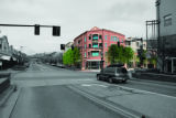 Gateway Station from street level.  PHOTO IS A PHOTO-RENDERING, NOT AN ACTUAL PHOTOGRAPH. THIS...