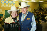 Ben and Nita Houston.  2005 Auction of Junior Livestock Champions at the National Western Stock...