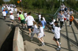 Hundreds of kids took part in the 1-Mile Student Sprint Sunday morning April 30th in Denver. Here...