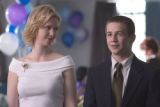 "Cynthia Nixon as Carol and Michael Angarano as Dylan in ""ONE LAST THING..."", directed by..."