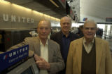 left to right, Tom Hagan, Tom Healy, Phil Karsh, (cq all three), all partners in...