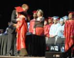Denver, CO May 21, 2006 Denver Public Schools Superintendent Michael Bennet hugs Arts &...