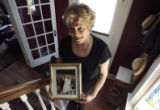 Donna Troccoli-Analovitch (cq) , granddaughter of Babe Ruth, in her Denver home on Thursday May...