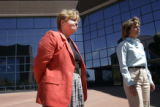 The Arapahoe County District Attorney Carol Chambers and Assistant District Attorney Leslie Hansen...