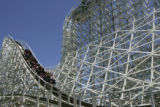 The Twister II at Six Flags Elitch Gardens on May 24, 2006.   (ELLEN JASKOL/ROCKY MOUNTAIN NEWS)...