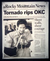 Front page of the Rocky Mountain News.  (KEN PAPALEO/ROCKY MOUNTAIN NEWS)