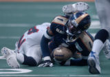Denver, Colo., photo taken March 20, 2005- Colorado Crush offensive specialist, Damian Harrell (cq...