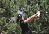 Chelsea Collins, (cq), Monarch High School, tees off early in the round. The 12th annual Ashley...