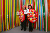 Museum visitors Leo and Roberta Jacobin (Cq), of Lakewood, pose for photograph for Becky Wareing...