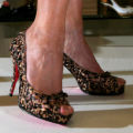 One of the shoe selections at Macy's modeled on the runway. STEVE PETERSON The Denver Hospice...