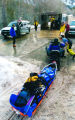Zach Ornitz/Aspen Daily News Rescue workers transport the body and equipment of an avalanche...