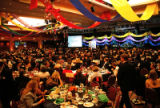 The Plaza Ballroom at the Adam's Mark. (STEVE PETERSON/SPECIAL TO THE ROCKY). The Latin American...